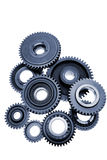 Cog Wheels. Assortment of cogs, gears and wheels Royalty Free Stock Image