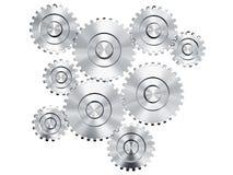 Cog wheels. 3d rendering of cog wheels Stock Photos