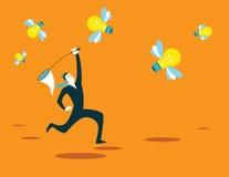 Coge la nueva red de las ideas reclutamiento Foto de archivo libre de regalías