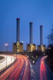 The cogeneration plant Berlin-Wilmersdorf (Kraftwerk Berlin Wilmersdorf) Royalty Free Stock Images