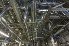 Cogeneration plant Stock Photos