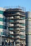 Cogenerationkraftverk Arkivfoto