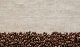 Cogffee fasoli tło Zdjęcie Royalty Free
