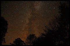 Cogida de las estrellas Foto de archivo libre de regalías