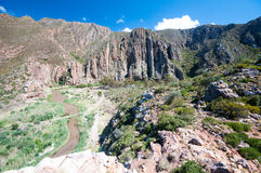 Cogmanskloof Pass;montagu,South Africa Royalty Free Stock Images