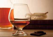 cognac royaltyfri bild