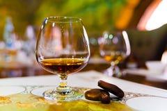 Cognac royalty-vrije stock afbeeldingen