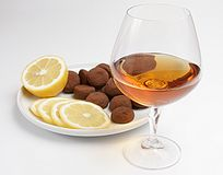cognac Obraz Royalty Free