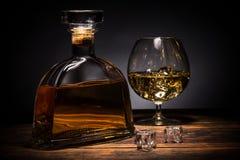 cognac royalty-vrije stock fotografie