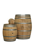 Cognac barrels Stock Photos