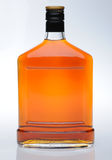 Cognac in bottle Stock Photos