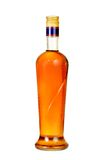 Cognac  bottle. Stock Images