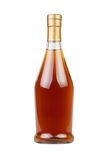 Cognac bottle Stock Photography
