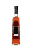 Cognac bottle on white background. Royalty Free Stock Image