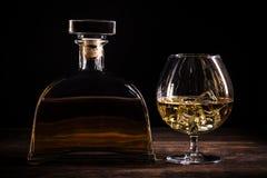 Cognac of brandewijn royalty-vrije stock afbeeldingen