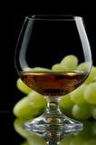Cognac, brandewijn Stock Afbeelding