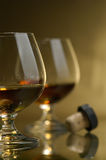 Cognac, brandy Royalty Free Stock Photography