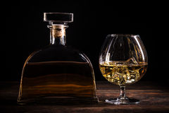 Cognac or brandy Royalty Free Stock Images