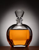 Cognac Decanter Royalty Free Stock Photography