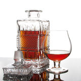 Cognac di ricchezza Immagini Stock Libere da Diritti
