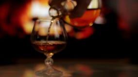 Cognac et cheminée clips vidéos