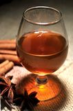Cognac from france elaboration alcoholic drinks Royalty Free Stock Photography