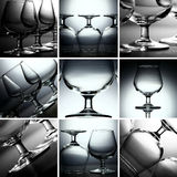 Cognac glass Stock Image