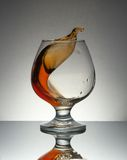 Cognac glass Royalty Free Stock Photo