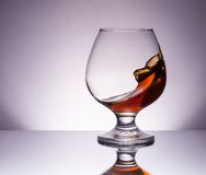 Cognac glass Royalty Free Stock Photos