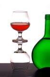 Cognac glasses Stock Photo