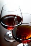 Cognac glasses Royalty Free Stock Image