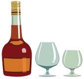 Cognac - illustrazione Fotografia Stock