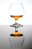 Cognac with reflection Royalty Free Stock Photo