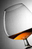 Cognac wineglass Stock Photos
