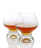 Cognac wineglass Royalty Free Stock Photos