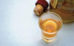 cognacexponeringsglas Royaltyfri Fotografi