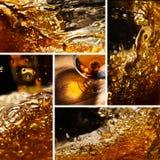Cognacglas met brandewijn Royalty-vrije Stock Afbeeldingen