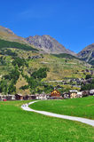 Cogne, Gran Paradiso Royalty Free Stock Image