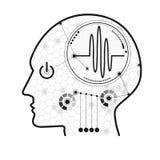 cognitive ilustração stock