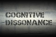 Cognitive dissonance gr Royalty Free Stock Photos