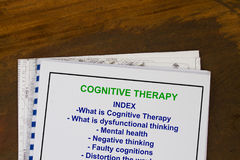Cognitive therapy Stock Image