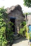 Cogon屋顶和墙壁巴丹群岛省 免版税库存照片