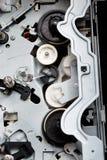 Cogs и привод в радиотехнической аппаратуре Стоковое Изображение