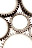 Cogs. Cog wheels over white background Royalty Free Stock Photos