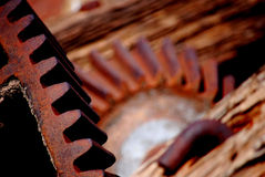Cogs. From old machinery in nw australia Royalty Free Stock Image