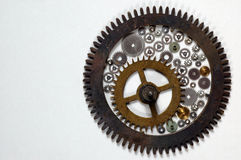 Cogs. And wheels Stock Photography