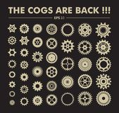 Cogs are back royalty free stock photography