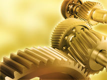 Cogs background Stock Images