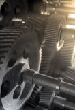 Cogs background Stock Photo