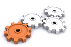 Cogs (business) Royalty Free Stock Images
